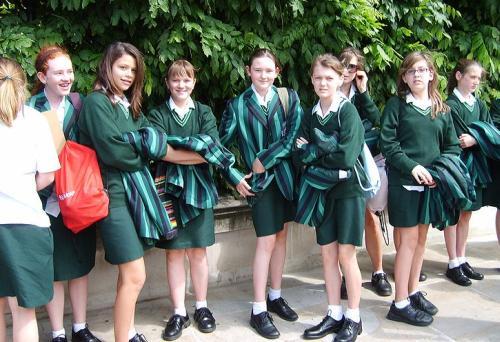Школьная форма в Великобритании