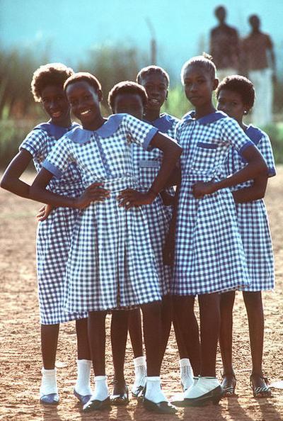 Школьная форма в Гамбии