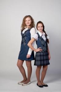 Школьная форма для девочек.