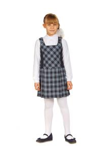 Текстильная школьная форма для девочек