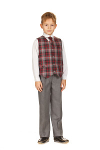 Текстильная школьная форма для мальчиков